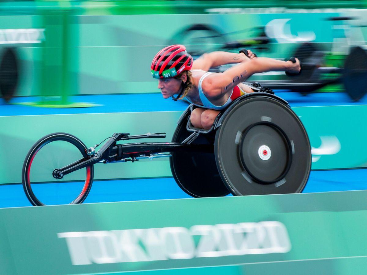 Foto: La triatleta española Eva Moral. (EFE)