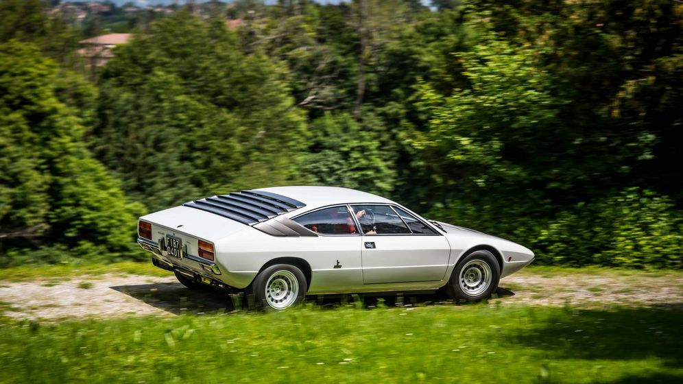 Foto: El Lamborghini Urraco se mantuvo en producción entre 1970 y 1979.