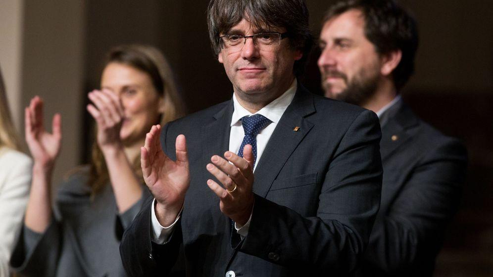 Foto: Puigdemont en Bruselas. (EFE)