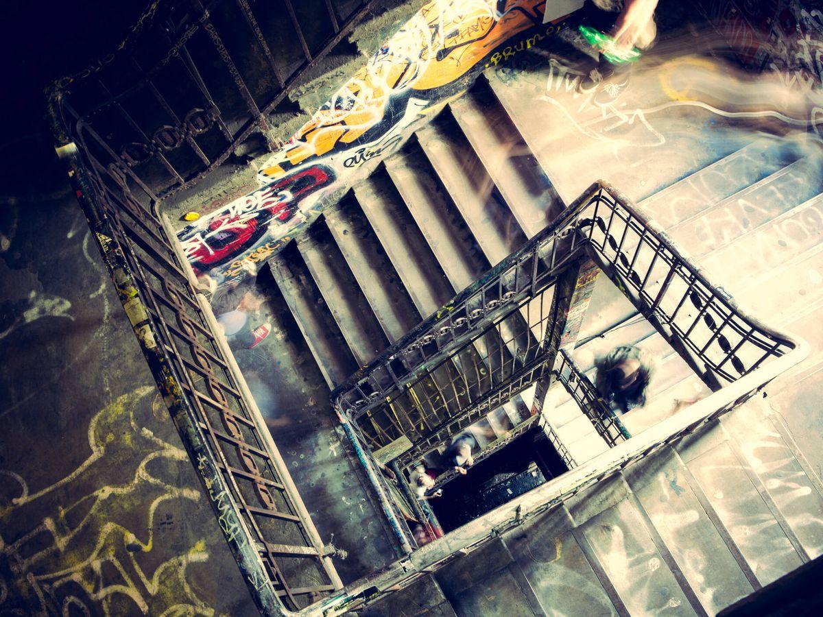 Foto: Imágenes del interior de Tacheles en Berlín (Fuente: iStock)