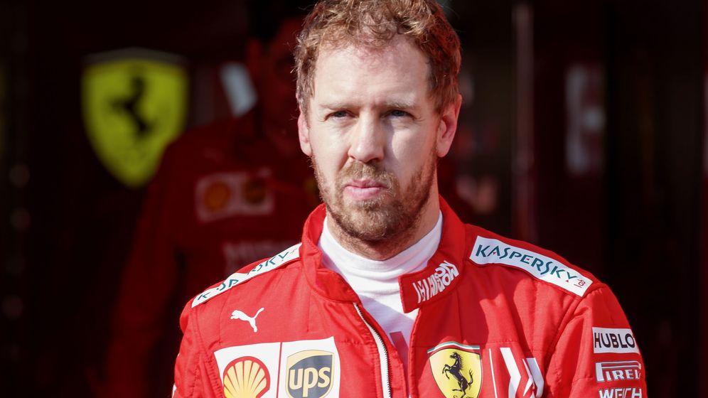 Foto: Sebastian Vettel en el GP de Abu Dabi, el último del año. (EFE)