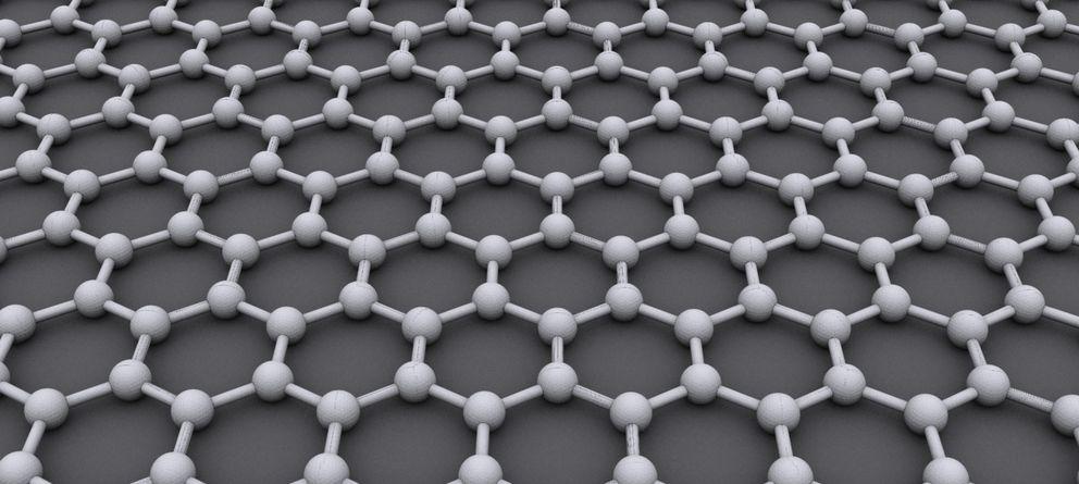 Foto: El grafeno tiene una estructura hexagonal, similar a un panal de abejas