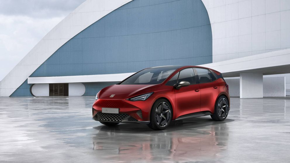 El-Born, el coche eléctrico de Seat que ha deslumbrado en el Salón de Ginebra