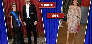 Post de Estos son los vestidos más caros y más baratos de la reina Letizia