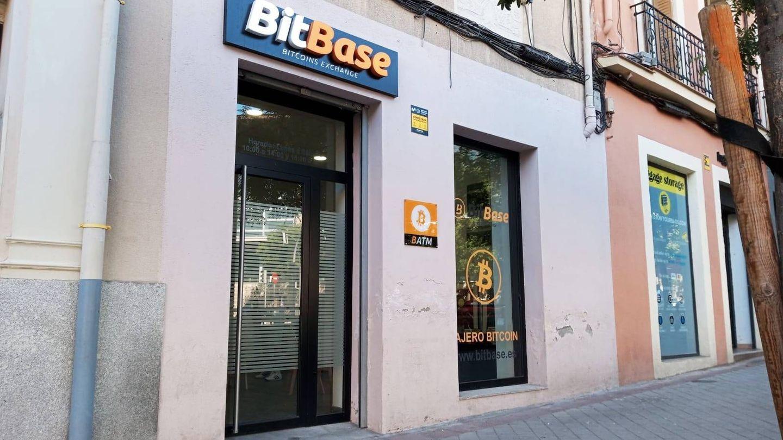 Local de BitBase en la calle General Lacy, Madrid. (J. M.)