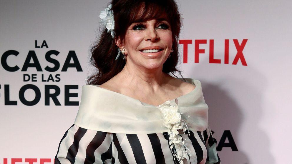 El motivo por el que Verónica Castro ('La casa de las flores') se retira de la televisión