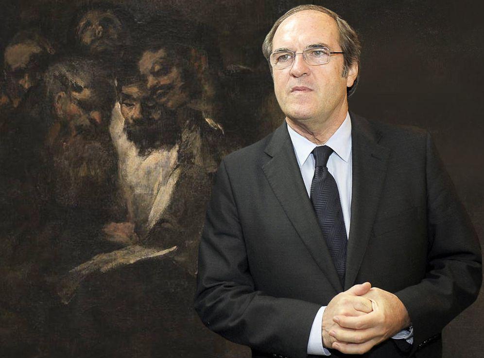 Foto: Consejos de Goya y Ángel Gabilondo para acabar con los intereses políticos