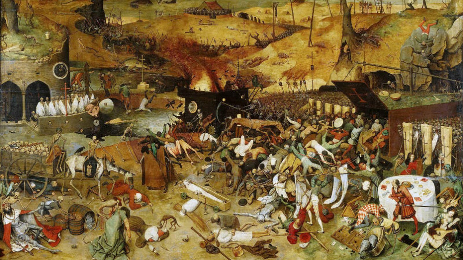Foto: 'El triunfo de la muerte' - Pieter Brueghel el Viejo (1562)