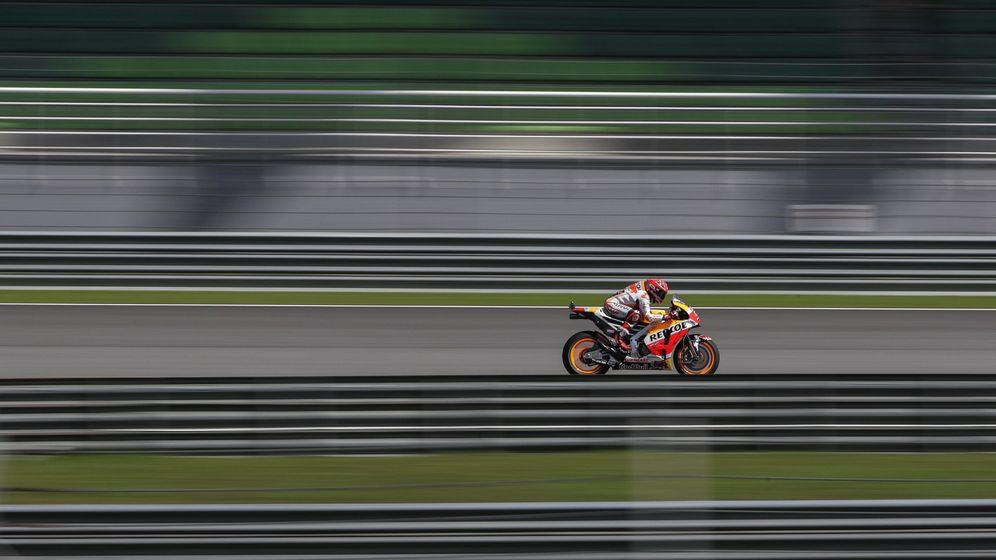 Foto: Márquez aventaja en 33 puntos a Dovizioso en el Mundial de MotoGP. (EFE)