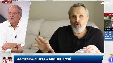 Un tertuliano de Cintora critica el doble rasero de Miguel Bosé con Hacienda