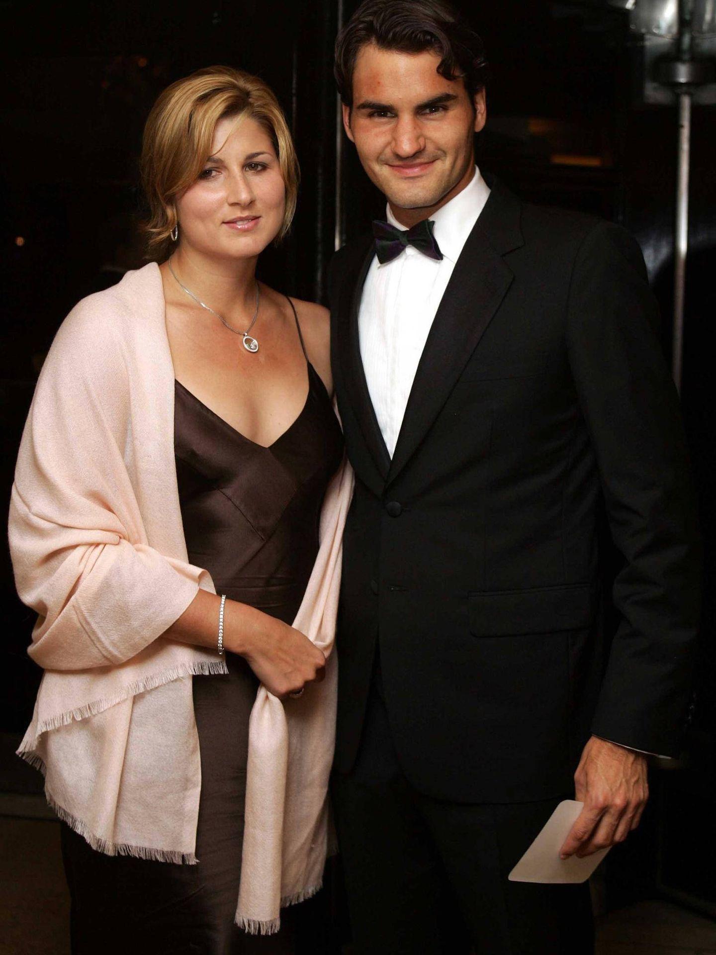 Con Roger Federer ha formado una familia muy sólida. (Getty)