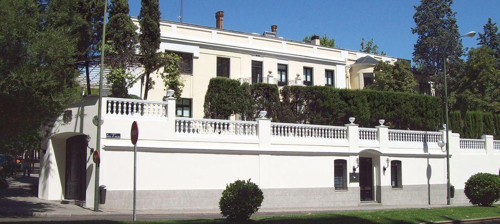 Foto: Vista exterior del IE Business School de Madrid (Luis García, Zaqarbal)