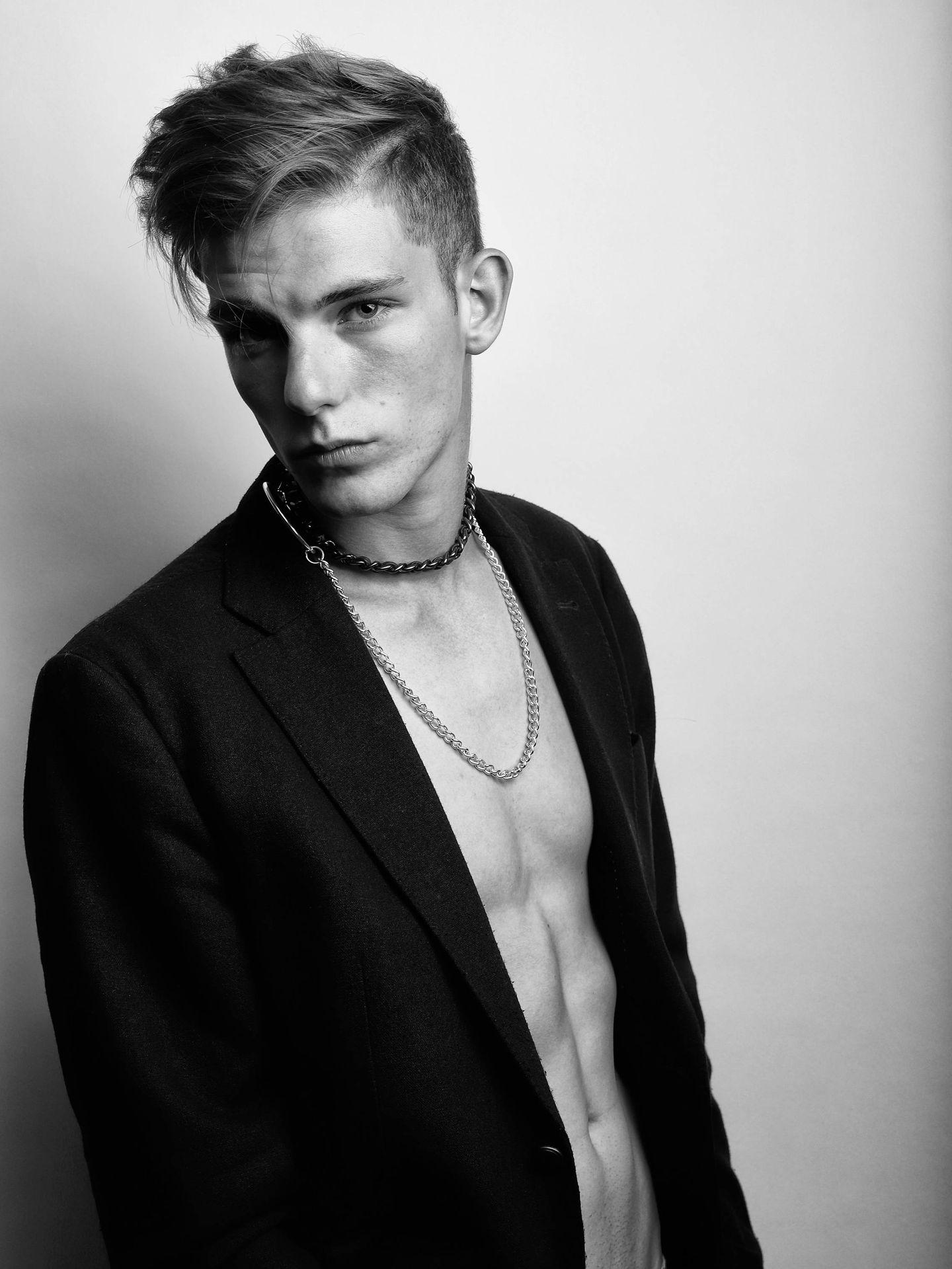 Ignacio de Borbón. (Fotografía de Ángela Candelas. Cortesía de Francina Models)