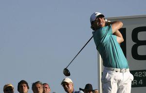 Pablo Martín, el hijo pródigo, vuelve a asomarse a la élite del golf