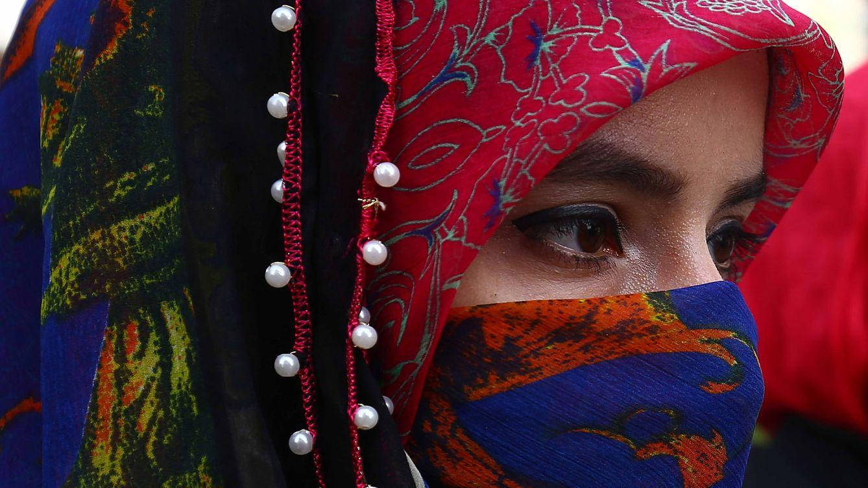 Foto: Una mujer musulmana en Karachi (EFE)