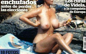 Foto: Kiosko rosa de los lunes: la Duquesa de Alba, desnuda en Interviú
