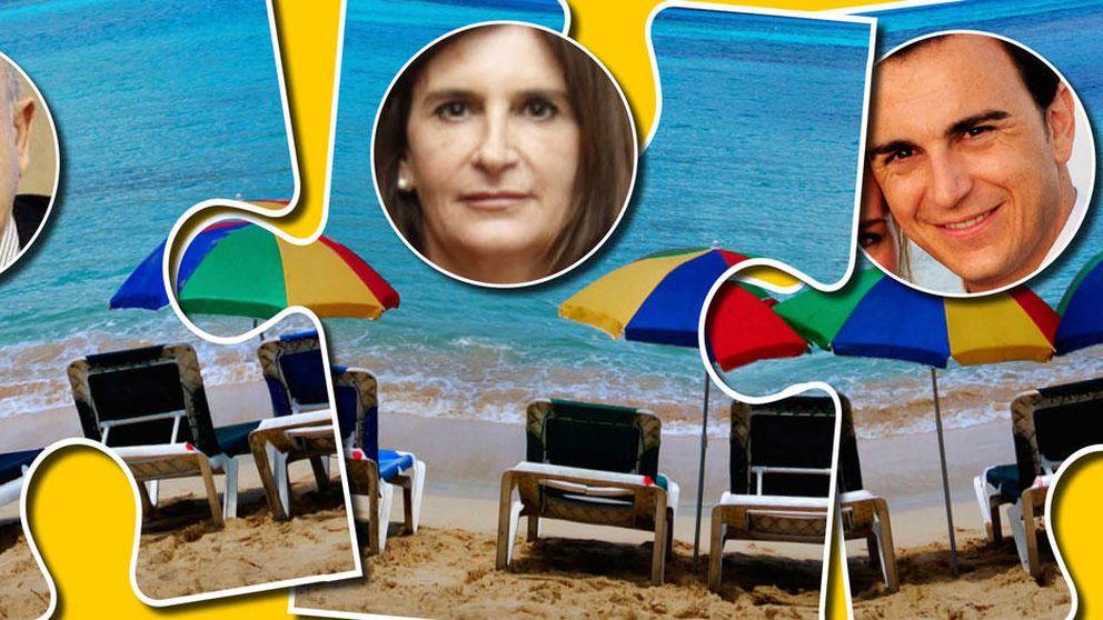 Los Matutes pujan por las hamacas y las sombrillas de las playas de Ibiza