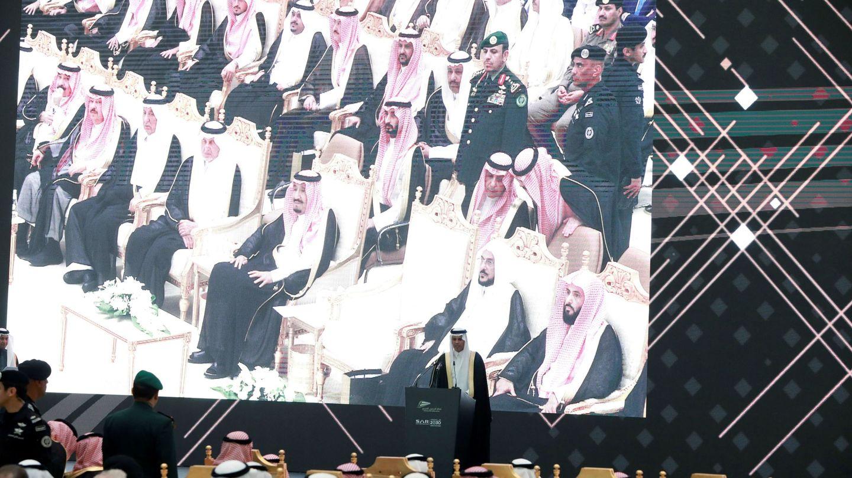 Acto oficial de inauguración del AVE a La Meca en 2018.