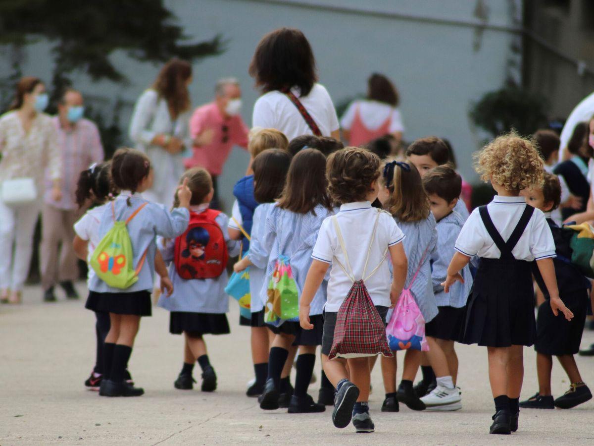 Foto: El inicio del curso escolar en Extremadura se vio oscurecido por esta polémica (EFE/Vicente Roso)