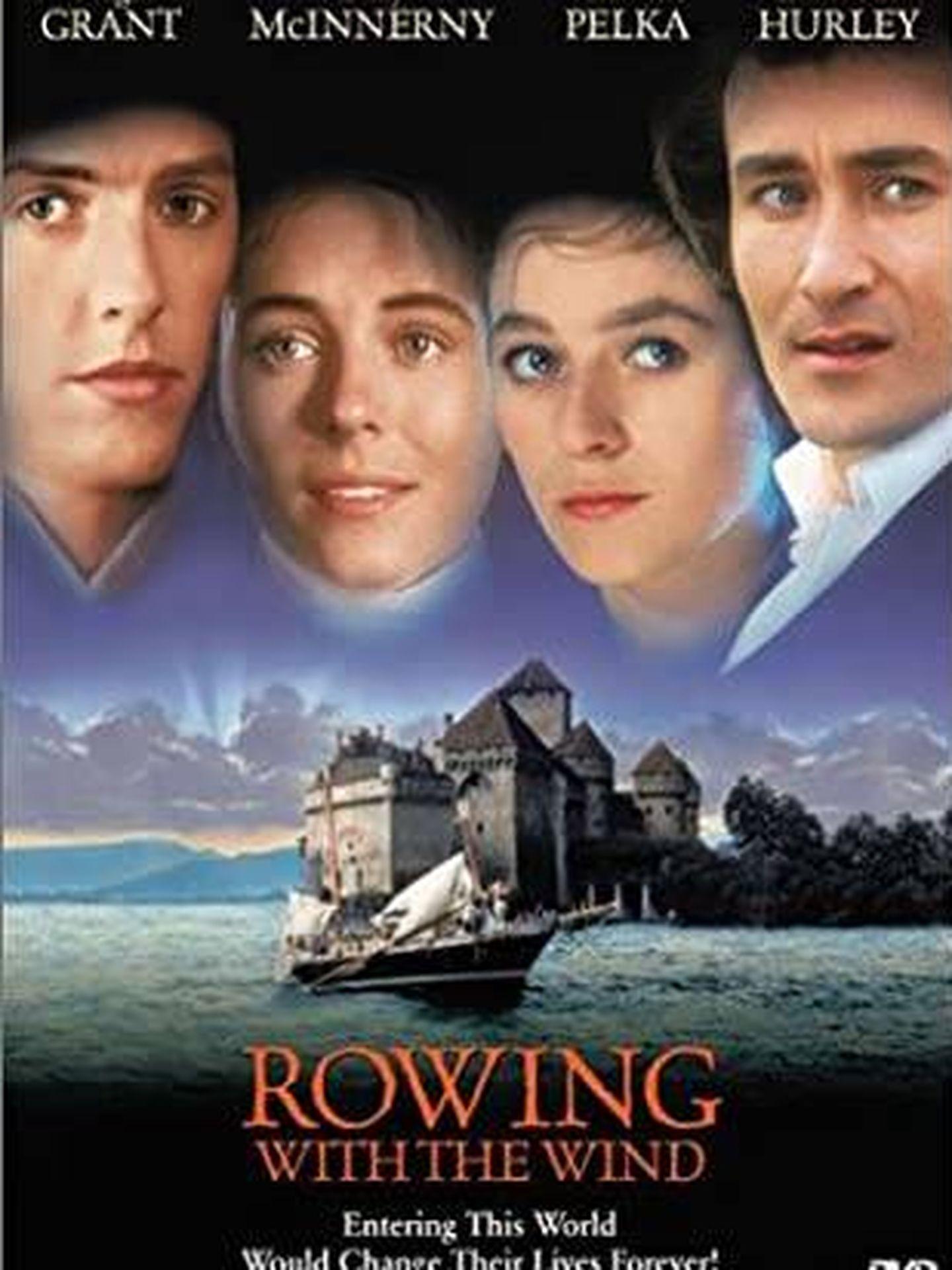 Poster promocional de 'Remando al viento'.
