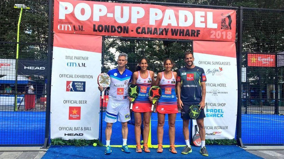 El mejor pádel del mundo se exhibe en Londres con el World Padel Tour