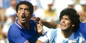 Foto: Gentile habla de su marcaje a Maradona del Mundial 82: Ahora no podría hacerlo