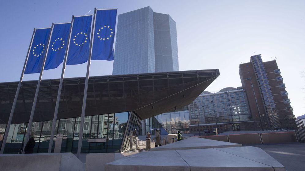 Foto: La sede del Banco Central Europeo (BCE) en Fráncfort. (EFE)