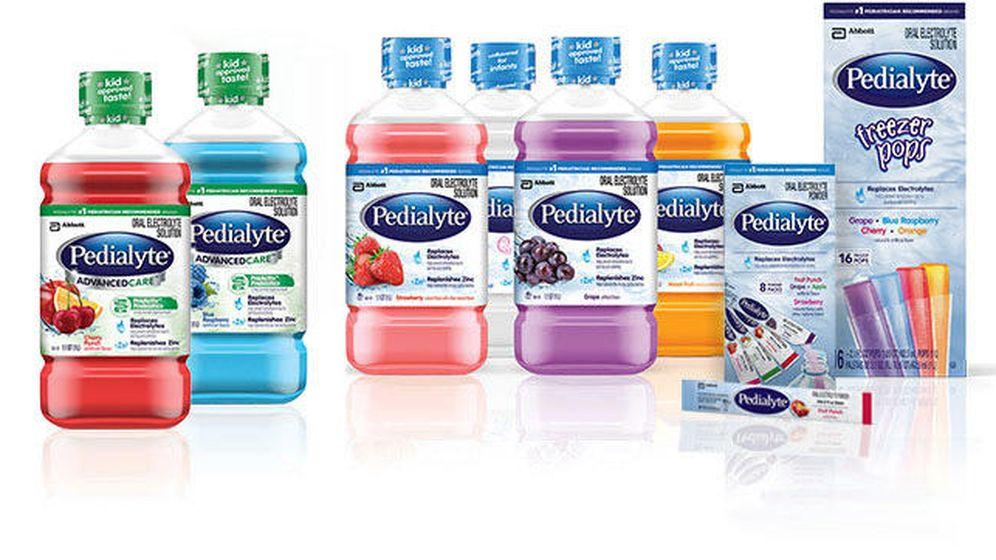 Foto: Toda la gama de productos Pedialyte (PEDIALYTE)