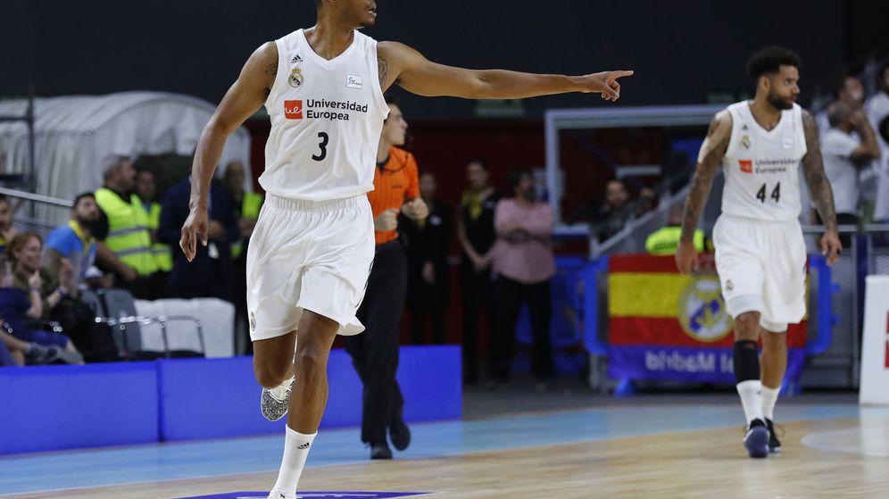 Foto: Esta es la tercera temporada de Anthony Randolph en el Real Madrid. (ACB Photo/A. Martínez)