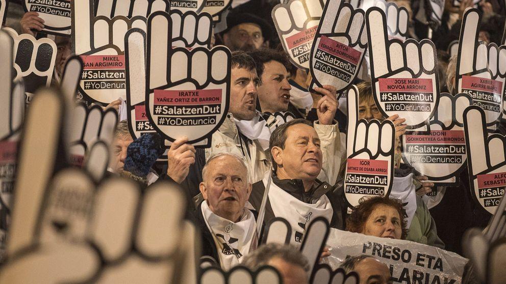 Decenas de miles de personas se manifiestan en Bilbao contra la política penitenciaria
