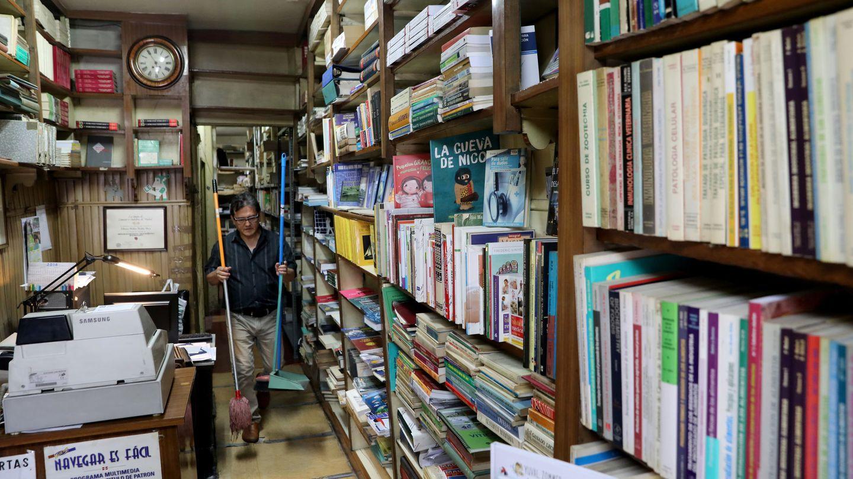 La librería Nicolás de Moya. (Reuters)