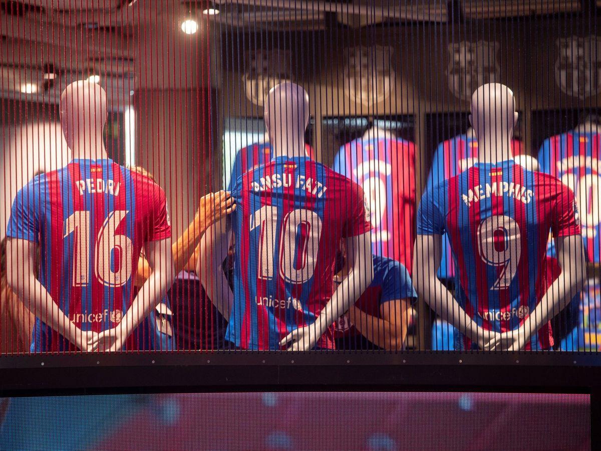 Foto: El Barça no está tan mal sin Messi, salvo en Europa.