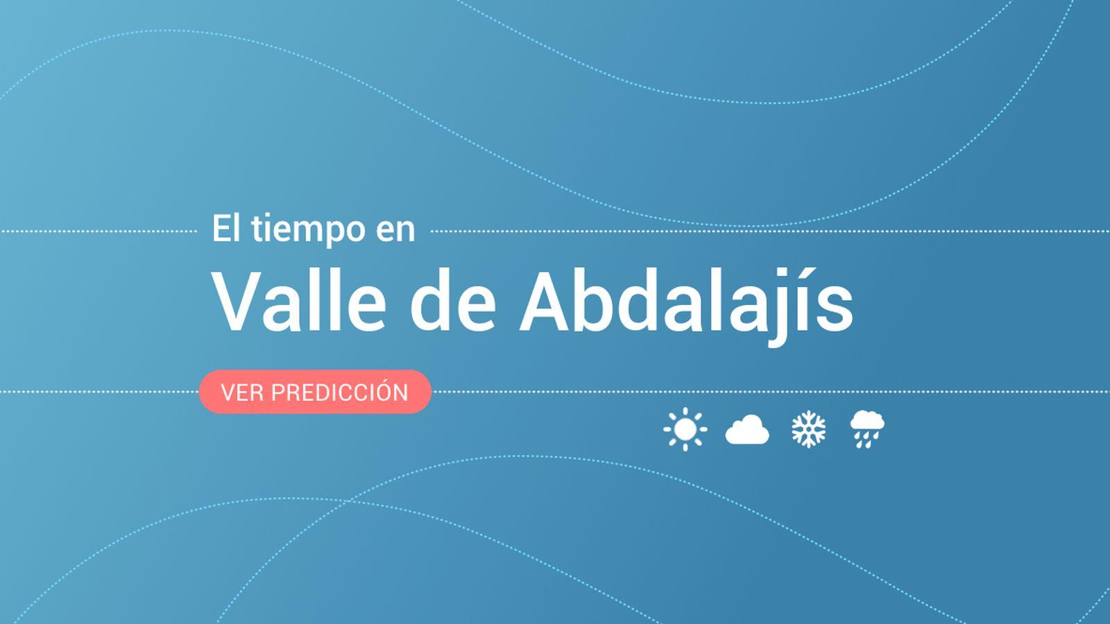 Foto: El tiempo en Valle de Abdalajís. (EC)