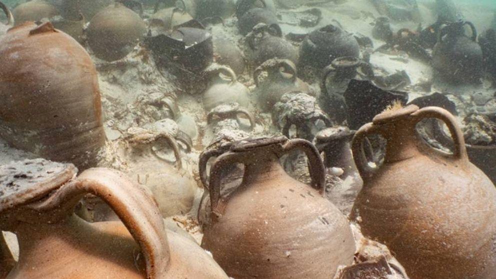 Hallan en Mallorca un barco romano hundido hace 2 milenios lleno de 'ketchup'