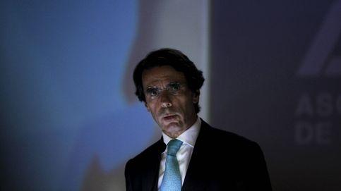 Aznar quiere una alianza de partidos constitucionales pero sin Sánchez