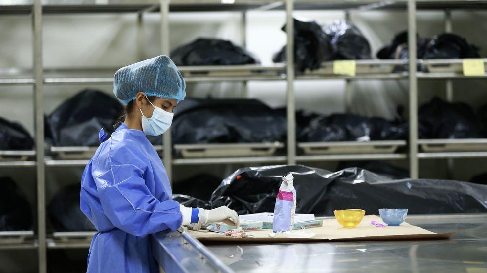Foto: Donación de cadaveres (EFE)