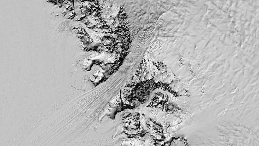 El mapa más detallado jamás creado de la Antártida