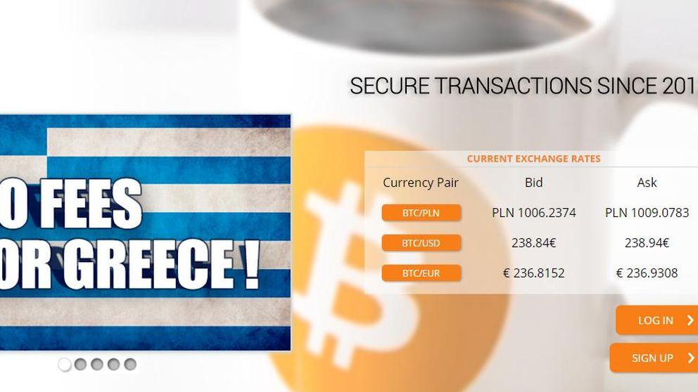 Se dispara el cambio de bitcoins en Grecia