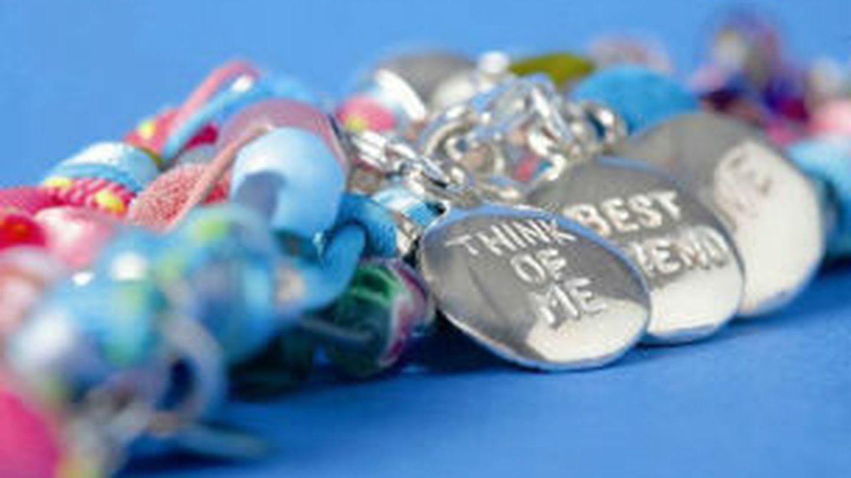 Imagen de una de las pulseras de Alexandra Plata