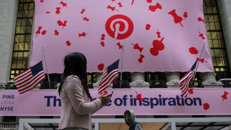 Pinterest cae un 13% en bolsa tras publicar sus primeros resultados como cotizada