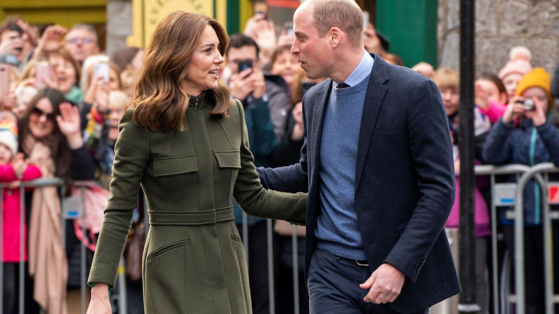 El príncipe Guillero y Kate Middleton, en su reciente viaje a Irlanda. (Reuters)
