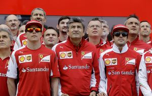 Ferrari reconoce que comienza a afinar para 2015, triste pero cierto