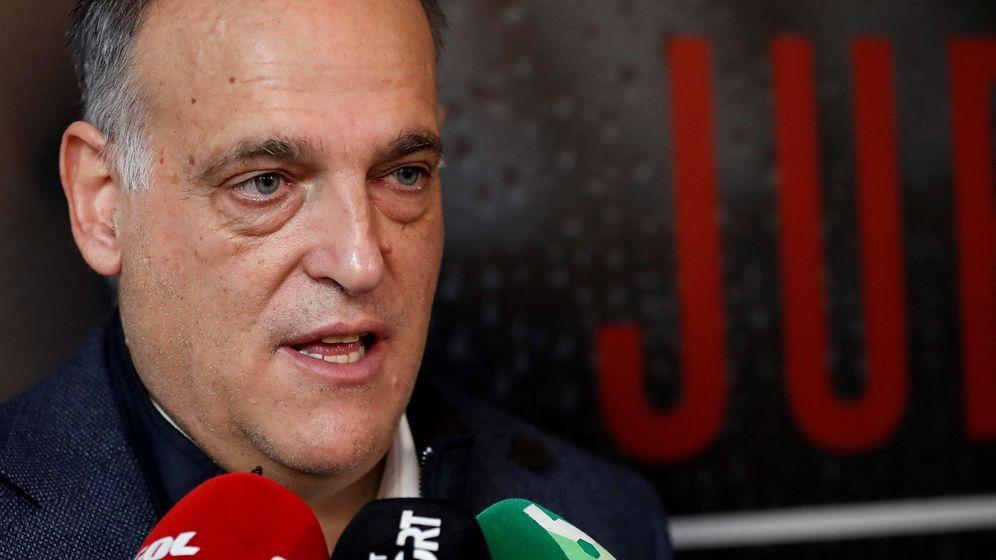 Foto: Javier Tebas es el presidente de LaLiga desde 2013. (EFE)