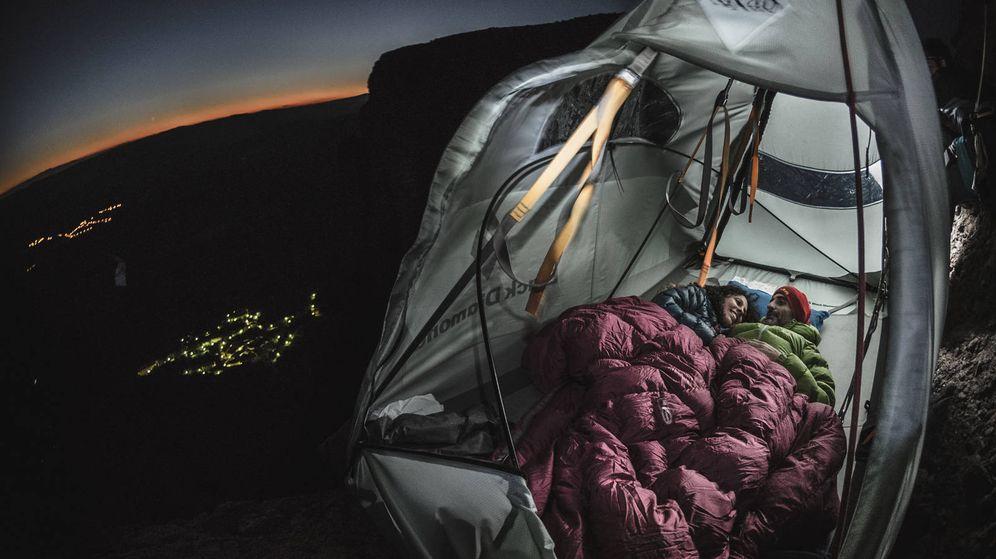 Foto: El Riglo de Mallas, un 'nido' a 100 metros de altura con un marco incomparable.