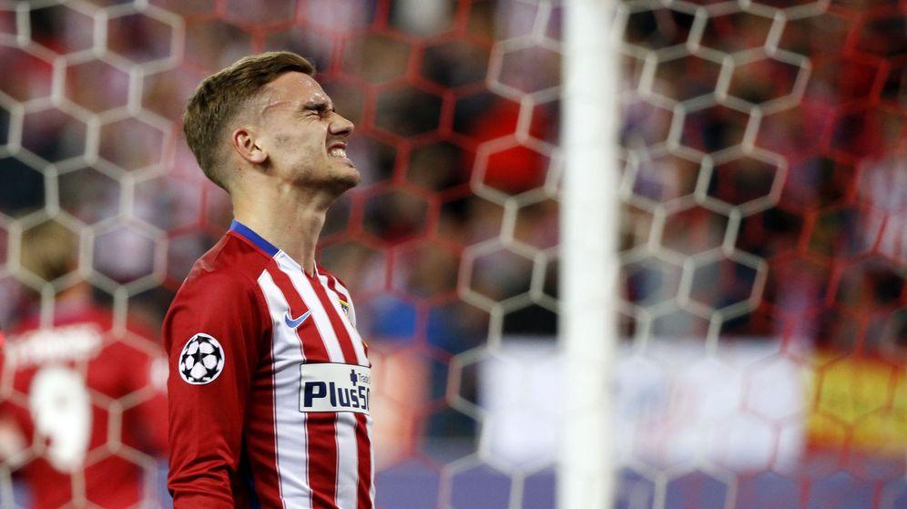 Foto: El delantero del Atlético de Madrid, Griezmann. (EFE)