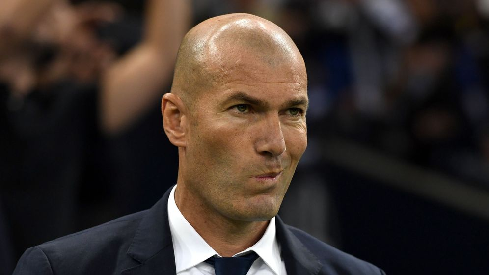 Foto: Zidane en la final de la Champions frente a la Juventus. (EFE)