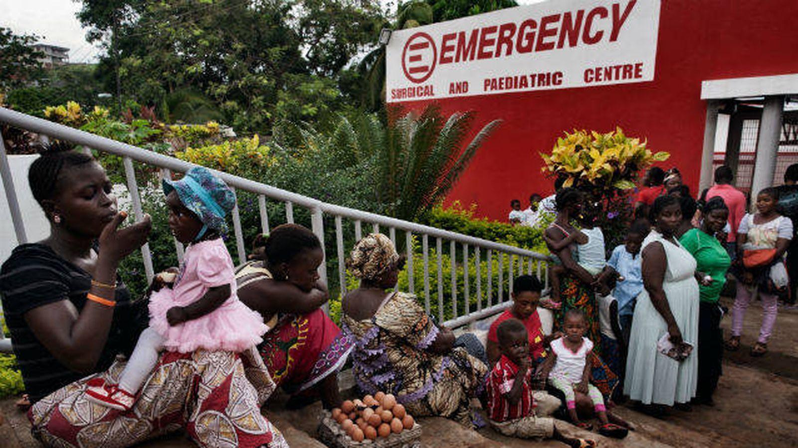 Foto:  Un centro clínico en Sierra Leona. (Emergency)