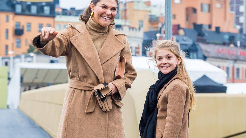 La princesa Victoria y su hija Estelle. (Instagram @kungahuset)