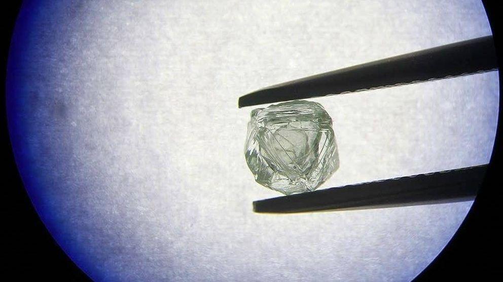 La gema 'matrioska': encuentran en Siberia un diamante dentro de otro