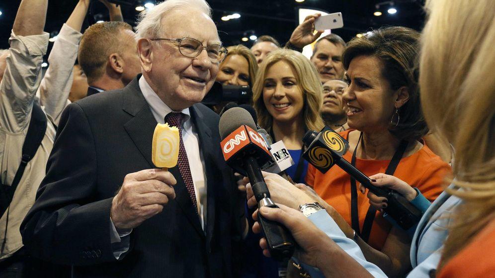 Foto: Warren Buffett, 50 años, 1.826.163% de rentabilidad